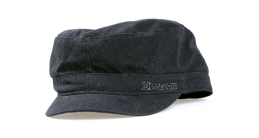 Brick Check Tailored Hat - Blk