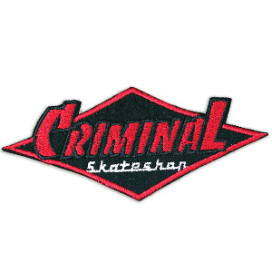 Criminal Logo Patch