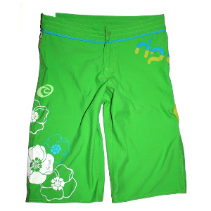 P-Balconies Boardshort - Neon Green