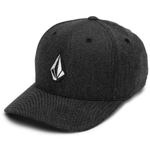 FULL STONE HTHR XFIT CAP - CHARCOAL HEATHER