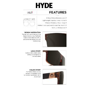 HYDE - POLISHED WALNUT/GREY