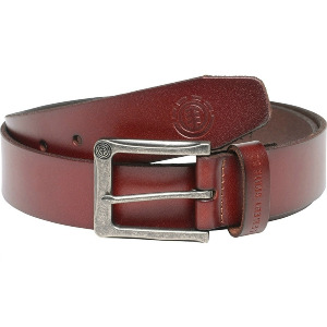 POLOMA BELT - CHOCOLATE RED