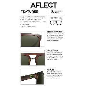 AFLECT - MATTE BLACK/SMOKE