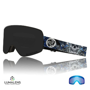 NFX2 - Asymbol Schoph/Dark Smoke + Lumalens Flash Ionized Blue Lens