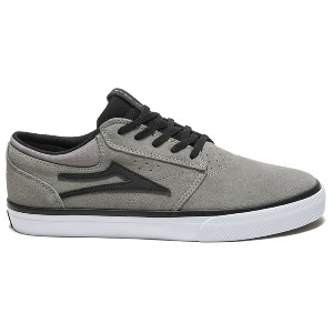 GRIFFIN - GREY BLACK SUEDE