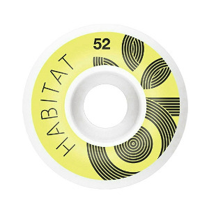 Wreath Logo - Yellow  52mm 101a
