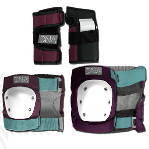 Wine Knee & Elbow Kid's Pack