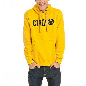 DIN ICON HOOD - Yellow
