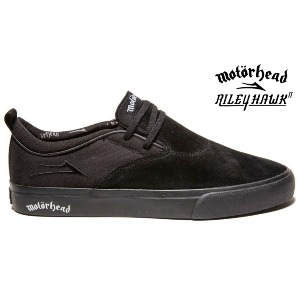 RILEY HAWK 2 X MOTÖRHEAD - Black White Suede