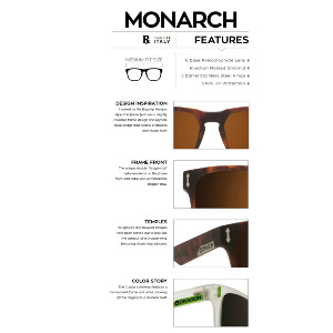 Monarch - Matte Black/Gold Ionized