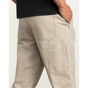 ANDREW REYNOLDS CANVAS PANT - DARK KHAKI