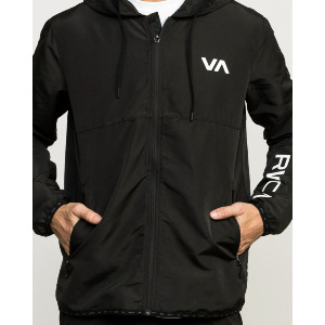 AXE PACKABLE VA SPORT JACKET - BLACK
