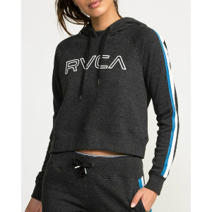 VA GUARD FLEECE HOODIE - BLACK