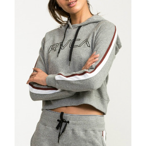 VA GUARD FLEECE HOODIE - HEATHER GREY