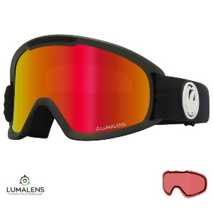 DX2 - BLACK/LUMALENS RED IONIZED + LUMALENS ROSE LENS
