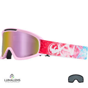 DX2 - GALAXY/LUMALENS PINK IONIZED + LUMALENS DARK SMOKE LENS