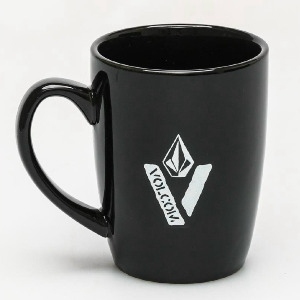 CUT OUT MUG - BLK