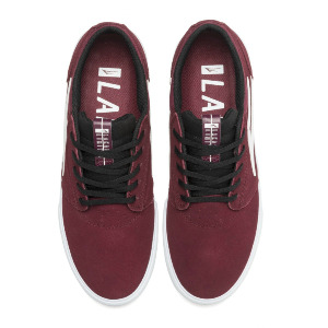 Griffin VLK - Burgundy/Black Suede