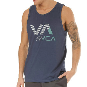 VA RVCA TANK - SEATTLE BLUE