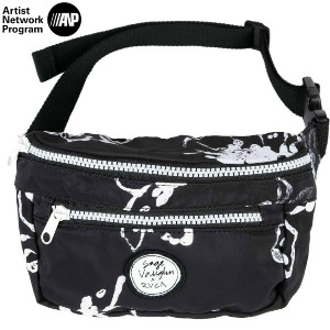 SAGE VAUGHN SYMBOLIZE BUM BAG - BLACK