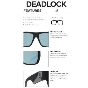 DEADLOCK - MATTE BLACK/GREEN ION