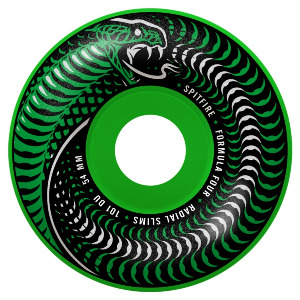 FORMULA FOUR VENOMOUS RADIAL SLIM 54MM 101A - GREEN/BLACK MASHUP