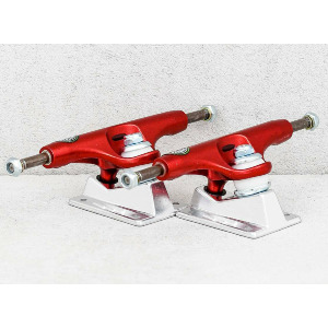 ROGUE SONORA LIGHTS TRUCKS - RED/POLISHED 148 HIGH