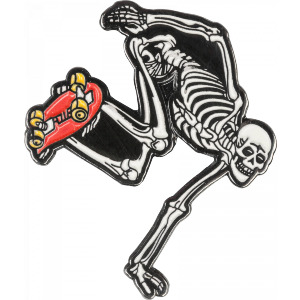 SKATEBOARD SKELETON PIN - ASSORTED