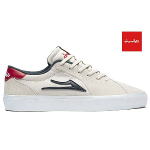 FLACO II - LAKAI X CHOCOLATE COLLAB WHITE SUEDE