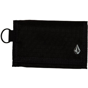 NYLON STONE WALLET - BLACK