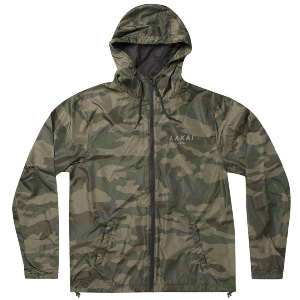 STACKED WINDBREAKER - FOREST CAMO