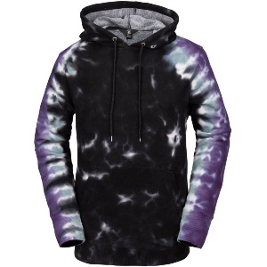 DI FLEECE - BLACK PRINT