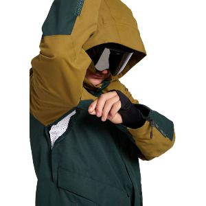ANDERS 2L TDS® JACKET - DARK GREEN