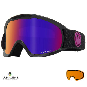 DX2 - SPLIT/Lumalens PURPLE IONIZED + Lumalens AMBER Lens