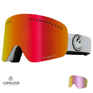 NFXS - PK WHITE/Lumalens RED IONIZED + Lumalens PINK IONIZED Lens