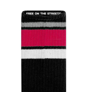 LAKAI X INDY CREW SOCK - BLACK