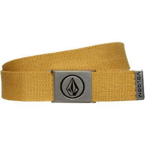CIRCLE WEB BELT - GOLD
