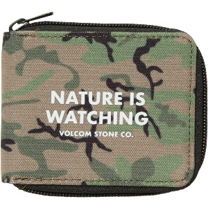 FULL ZIP WALLET - CAMOUFLAGE