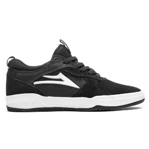 PROTO HAWK KID'S - BLACK/WHITE SUEDE