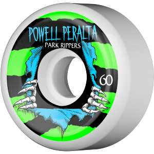 PARK RIPPER - 104A 60mm WHITE