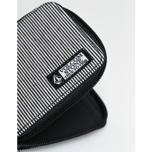 FULL ZIP WALLET - BLACK/White
