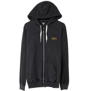 Roots Hoodie - Rasta Enzymatic Wash