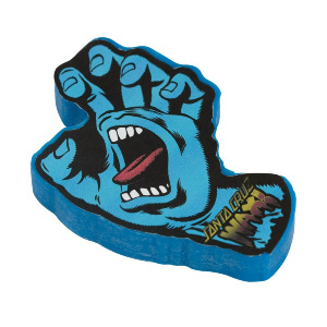 screaming hand curb skate wax - blue