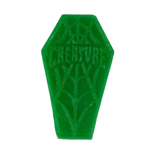 coffin mini curb skate wax - green