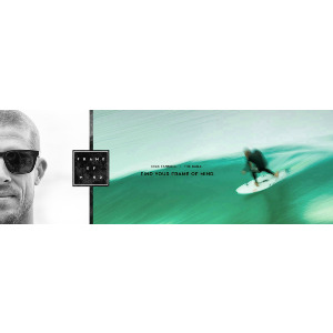 BAILE - MICK FANNING SIGN. MATTE DEEP NAVY/BLUE ION POLARIZED