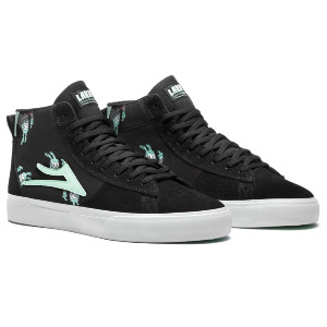 NEWPORT HI - BLACK/MINT SUEDE