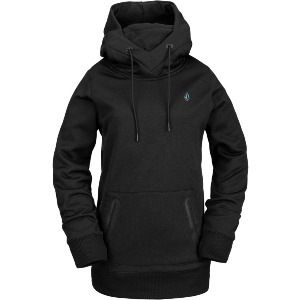 SPRING SHRED HOODY - BLK