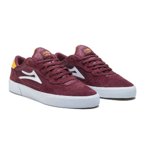 CAMBRIDGE - BURGUNDY SUEDE
