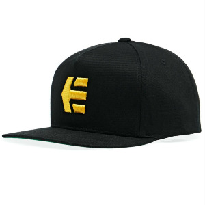 ICON SNAPBACK - BLACK/YELLOW