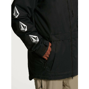 DEADLY STONES INS JACKET - BLACK